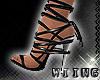 [W] Black Sandals