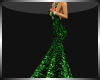 Elegant Dress Green