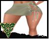 Stonewash sidetie  Skirt