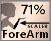 71% ForeArm Scaler F A