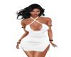C- Loilita Dress White