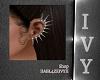 IV.SilverSpikes Earrings