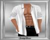 Open White Shirt DER