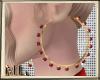 ML Red Hoop Earrings