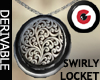 Swirly Antique Locket 1