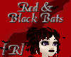 Red & Black Bats