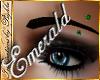 I~Emerald Brow Piercing