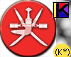 (K*) Oman Sticker