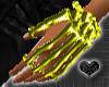 *Bone Yellow Hand JewelL