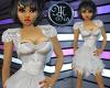 (MSis)White Sheer Dress