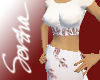 :S: Cream Red Wedding
