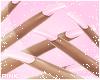 ♔ Nails e Pink Glitt