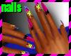 ~Leopard bomb~ nails