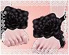 Rose Sandals |Black