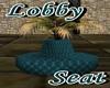 ~G~ Teal Lobby Seat