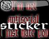 ~x~NotAntiSocialSticker