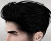 Hair BLACK .