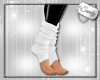 Wooly Ankle Warmers Wh
