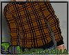 Plaid Sweater Mustard