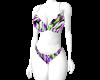 Bikini purple mix