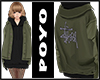Oversize hoodie&jacket