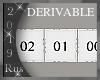 Rus:DERIV Set Of 3 Frame