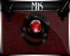 !Mk! Red Sphere Bracelet