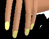 Yellow Pastel Nails
