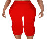 Janet Red Capri