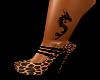 Ankle Dragon Tattoo