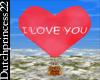 ~DP22~I love you balloon