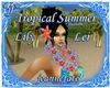Tropical Summer Lei F