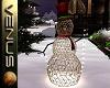~V~Snowman w/lights
