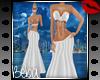 XXL White Gown
