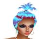 Hair Blue Red Sorbet