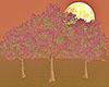 e Romantic Decor Trees