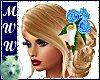 Wed Anne SK w/Blue Roses