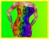 (R)Rainbow Leo Dress