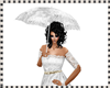 Umbrella lace white