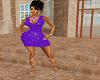 Sparkle Purple Dress
