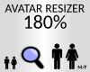 avatar resizer 180%