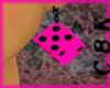 C8K Pink Dice Earrings