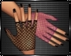 Lolita Pink Black Gloves
