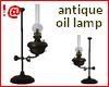 !@ Antique oil lamp