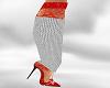 *AL* Red Lace Heel