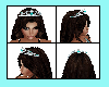 Teal Princess Crown