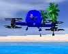 Quad Copter Blue