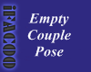 Empty Couple Pose