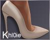 K nude heels