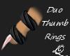 Qae| Duo Thumb Rings